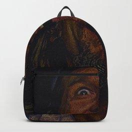 The Dude (Lebowski Screenplay print) Backpack