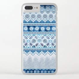 Ethnic Bands 1 Clear iPhone Case