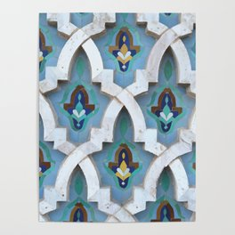 Marocco Pattern Mosaic Poster