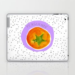 Pretty Persimmon Print Laptop & iPad Skin