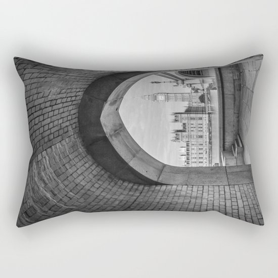 Big ben and bridge Rectangular Pillow