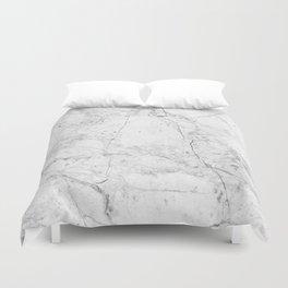 Nordic White Marble Duvet Cover