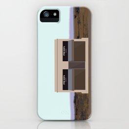 Marfa Installation: A digital illustration iPhone Case