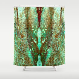 mirror 9 Shower Curtain
