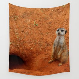 On Guard Duty Wall Tapestry