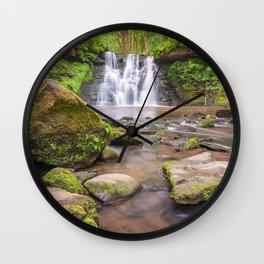 Goit Stock Waterfall Wall Clock