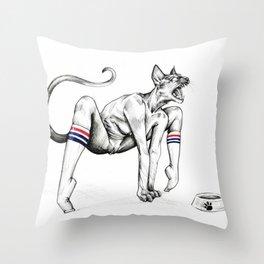 Hangry Throw Pillow