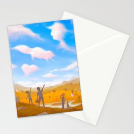 Cloud Spotting Stationery Cards