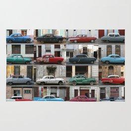 Cuba Cars - Horizontal Rug