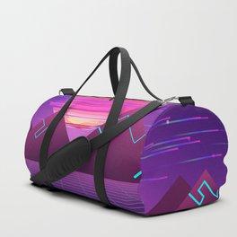 Cyberpunk Landscape Aesthetic Duffle Bag