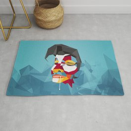 Drooling Dude Rug