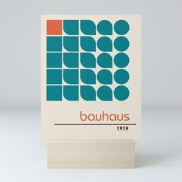 Vintage poster-Bauhaus 1919. Mini Art Print
