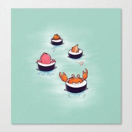 Tasty playground Canvas Print