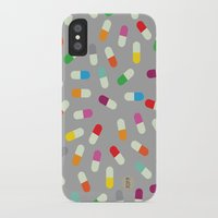 the cure iPhone & iPod Cases featuring Pill cure by  R U A L E G R E