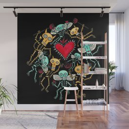 Devils and Angels Wall Mural