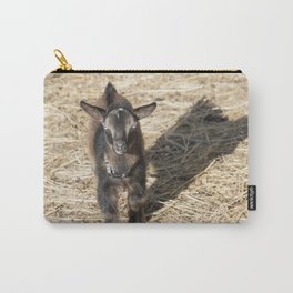 Small Nubian Goat and shadow Carry-All Pouch