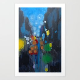 The Streets Art Print