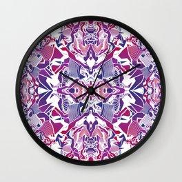 Urban Tribal Wall Clock
