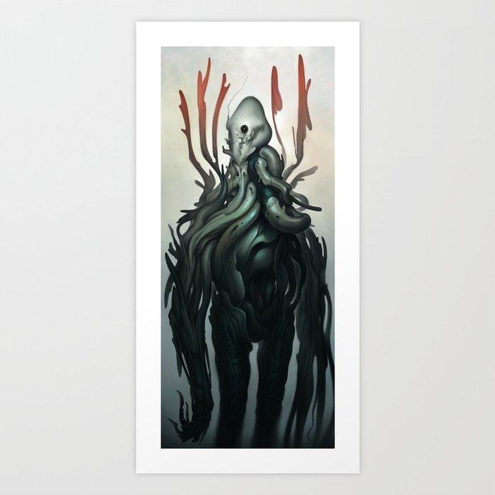 Sentient Art Print