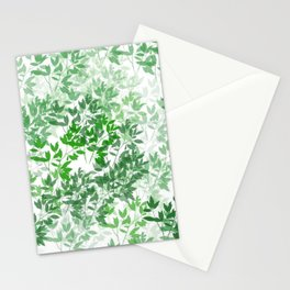 Inspirational Leafy Pattern Stationery Cards