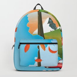 Germany Travel poster Backpack