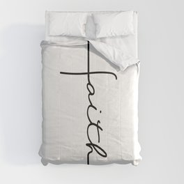 Faith Cross Comforters