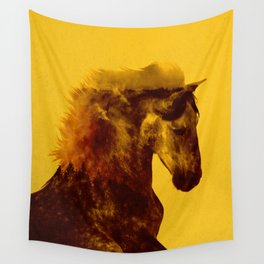 Proud Stallion Wall Tapestry