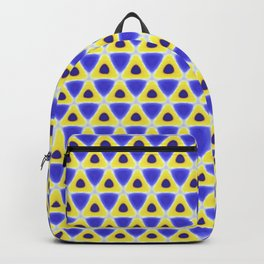A sea of Triangles Backpack