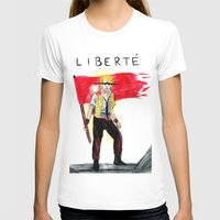 enjolras T-shirts featuring Enjolras' Last Stand by brokenfocus
