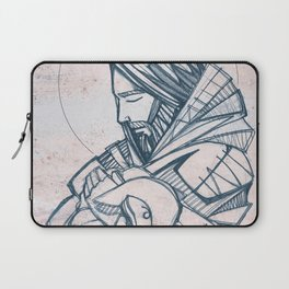 Jesus Christ Good Shepherd Laptop Sleeve