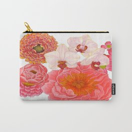 Flowers For Days Carry-All Pouch