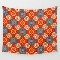 persian Wall Tapestries featuring Persian Parlor by Peter Gross