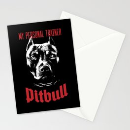 Pitbull My Personal Trainer Stationery Cards