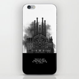 HexArchi - Spain, Barcelona, Basilica and Expiatory Church of the Holy Family iPhone Skin