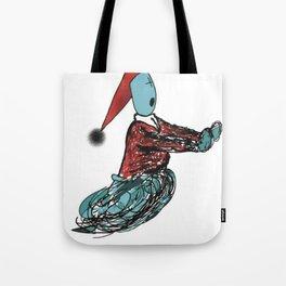 terrified Tote Bag