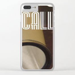 This Is A Call Clear iPhone Case
