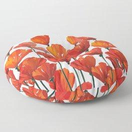 Poppies! Floor Pillow
