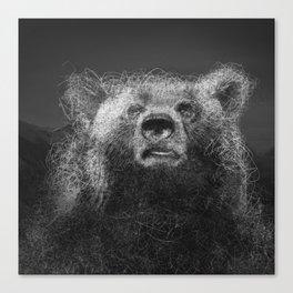 Sacred Bear Canvas Print