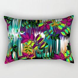 High Definition Leaves Rectangular Pillow