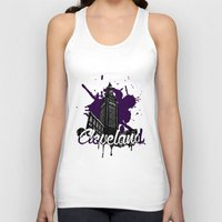 cleveland Tank Tops featuring Cleveland LOve by Nijome