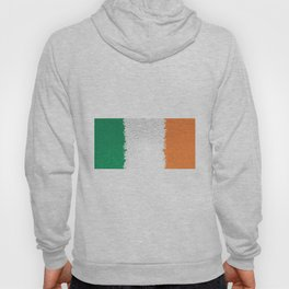 Extruded flag of Ireland Hoody