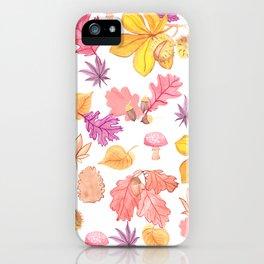 Autumn Medley iPhone Case