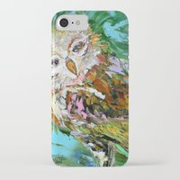 hedwig iPhone & iPod Cases featuring Hedwig by Karen Tarlton