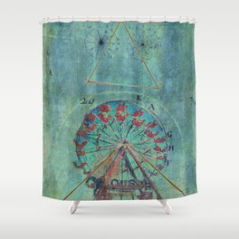 The Meaning Of Life (in a round about way) Shower Curtain