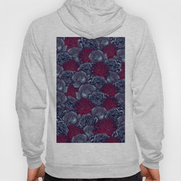Stop and Smell the Roses CRIMSON MOONLIGHT Hoody