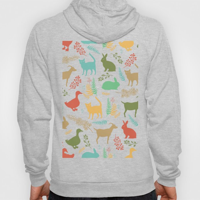 Forest and Animals Hoody