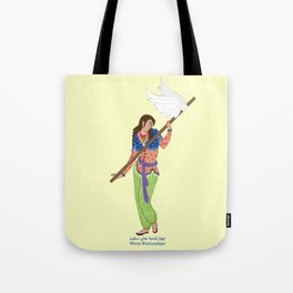 White Wednesdays Tote Bag