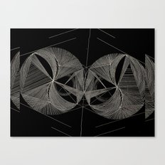 coordinated chaos Canvas Print