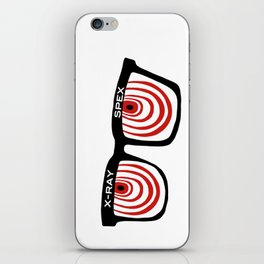 X-Ray Specs iPhone Skin