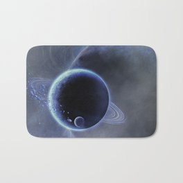 Blue Planet Bath Mat